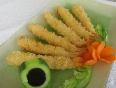 Frozen crumbed shrimp